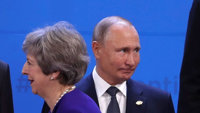Обмислят среща Мей-Путин на Г-20
