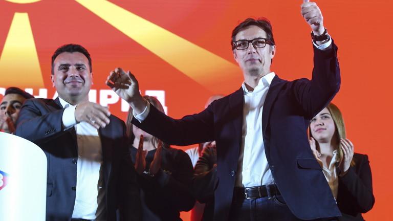 Пендаровски води с под 5000 гласа на Давкова за президент на Северна Македония