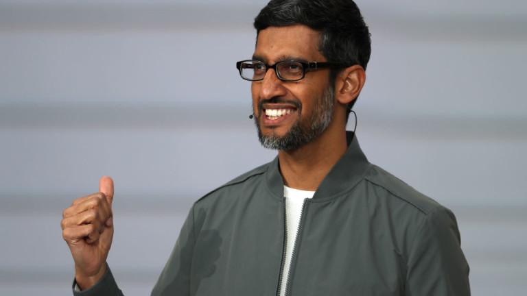 Шефът на Google и историята как баща му дава едногодишната си заплата за билета му до САЩ