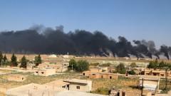 Ракетни удари в района на Северна Сирия