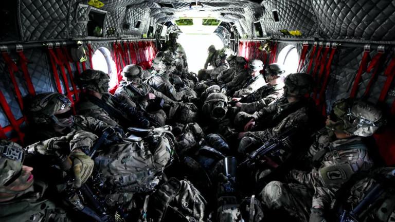 В изявление на Сухопътните сили на САЩ в Европа се