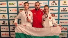Таекуондо битките в Турция продължават, медалите за България също