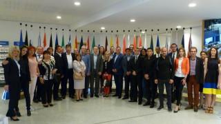 Група от пет български области посети ЕП в Брюксел