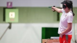 Председателят на БОК поздрави сребърната Антоанета Костадинова