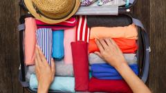 Как да подреждаме дрехите си в куфар