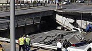 Подземен паркинг се срути в центъра на Москва