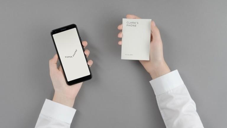 Какво представлява хартиеният телефон на Google