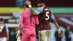 Евертън намали шансовете си за Европа след равенство срещу Астън Вила