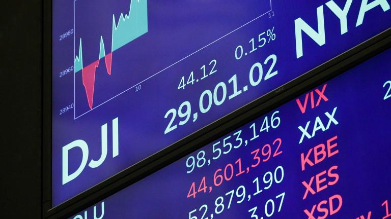 За първи път Dow Jones премина прага от 29 000 пункта