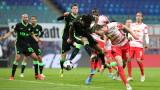 РБ Лайпциг завърши 2:2 с Волфсбург в Бундеслигата