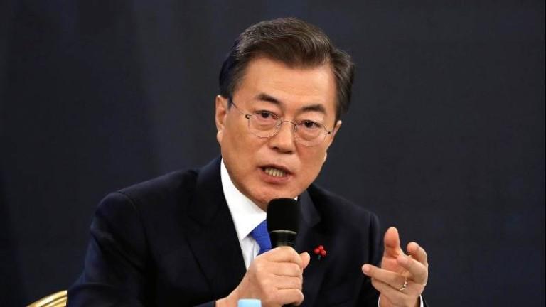 Президентът на Южна Корея Мун Дже-ин остро разкритикува САЩ за