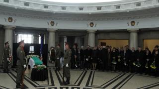 Политическият елит отдаде последна почит към Йордан Соколов