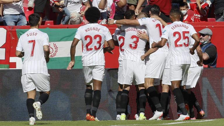 Отборът на Севиля победи Леванте с 5:3 като домакин в