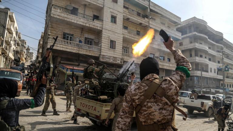 Снимка: Десетки загинали и ранени при атентат в Сирия