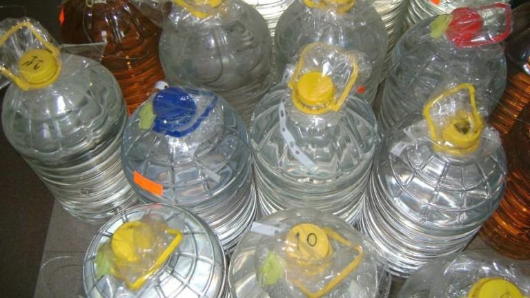 Митничари задържаха 1527 литра нелегален алкохол