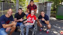 Футболистите на ЦСКА се включиха в благородна инициатива