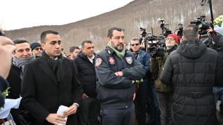 Салвини се надява Макрон да бъде победен на евроизборите