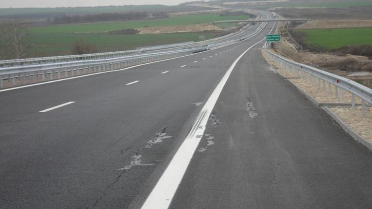"Спешно ремонтират магистрала ""Марица"" при Свиленград"