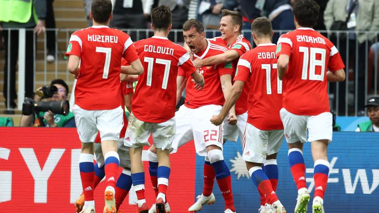 Без изненади в състава на Русия за Евро 2020