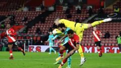 Саутхямптън победи Ливърпул след геройско опълчение