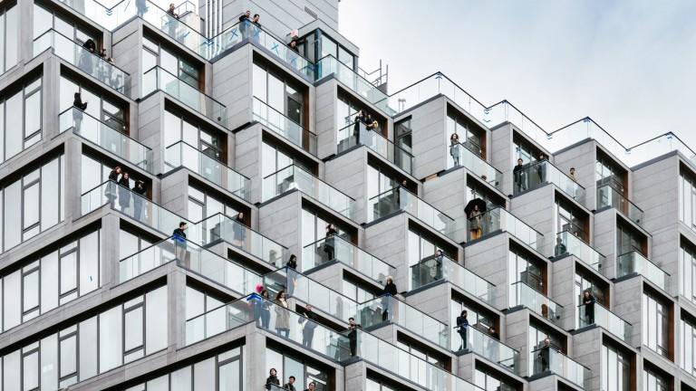 Сгради-пиксели – новата мода