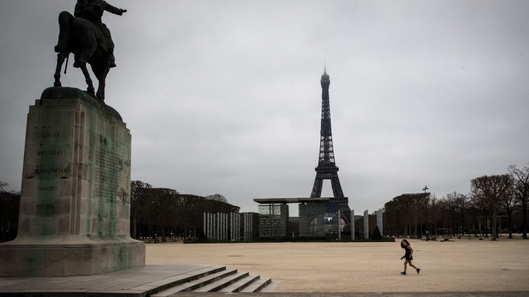 Шести ден Франция е под блокада заради коронавируса