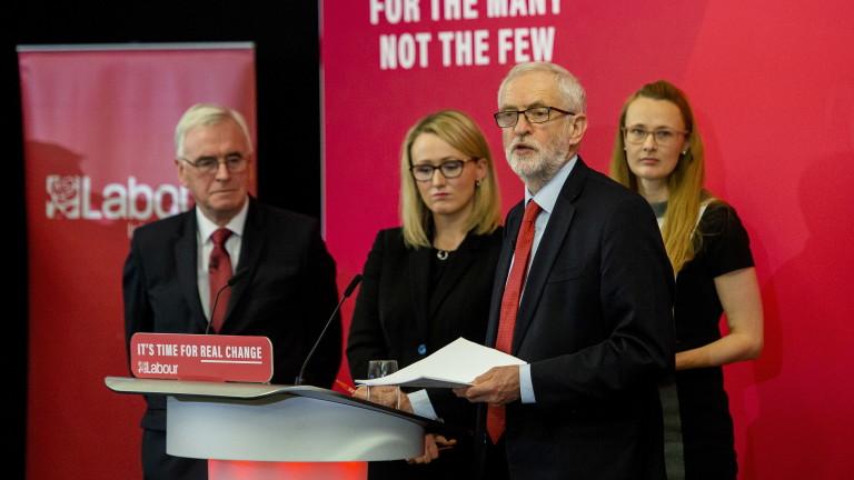 Лидерът на британската Лейбъристка партия официално стартира амбициозния план на
