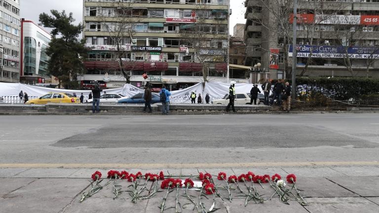 Атентатът в Анкара бил със сила на земетресение 1,4 по Рихтер