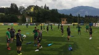 Лудогорец с първа тренировка в Австрия