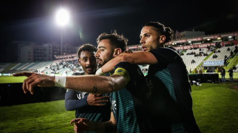 Манчестър Юнайтед окончателно се размина с Бруно Фернандеш