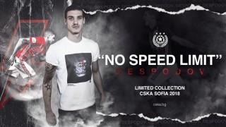 ЦСКА стартира продажба на лимитирана серия тениски с Кирил Десподов