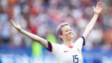 Меган Рапино, женският национален отбор по футбол на САЩ и посланието на спортистката