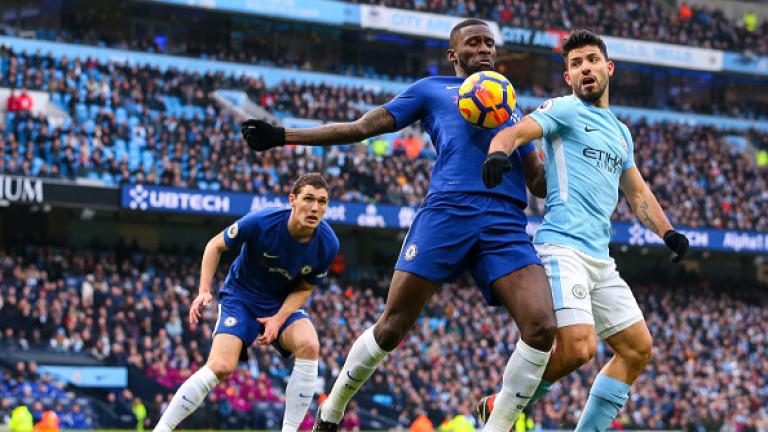 Манчестър Сити - Челси 1:0, гол на Бернардо Силва