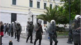 Полицията ще използва пейнтбол на финала в Атина