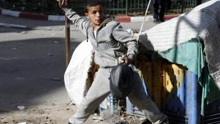 Тежки сблъсъци между палестинци и израелски войници в Газа и Западния бряг