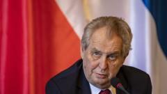 Проруският президент на Чехия подкрепя борбата на Тихановска с Лукашенко