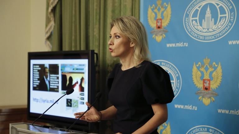 Захарова отговори на британските медии
