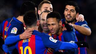 """Барса най-после с победа на """"Аноета"""", рефер намигна на световния футболен титан"""