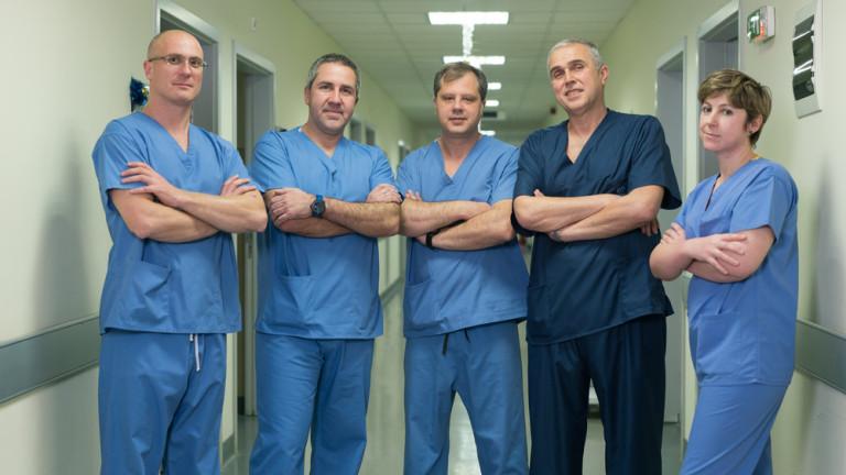 Трансплантация на черен дроб спаси живота на мъж