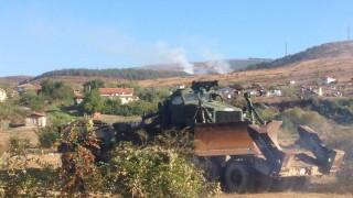 Втори ден гасят пожар в Сливенско