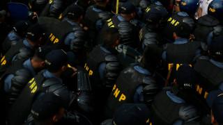 Протести срещу Тръмп в Япония и Филипините