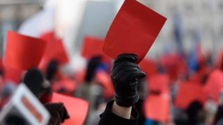 """Пореден протест в Полша показа """"червен картон"""" на управляващата партия"""