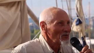 80-годишният мореплавател Васил Куртев се завърна във Варна след околосветска обиколка