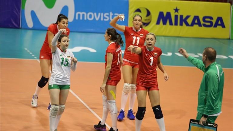 Волейболистките отлетяха за Азербайджан