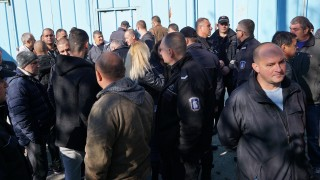 Надзиратели от Бобов дол излязоха на протест