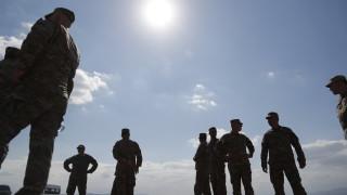 Контингент на НАТО на учение на литовско-беларуската граница
