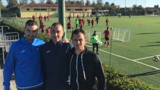 Треньори на Левски ще се запознаят с методиката на работа в Каляри