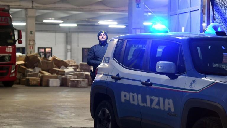 33 души са задържани в Италия по подозрение участие в