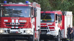 Гори голям горски пожар край Благоевград