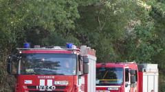 Горя товарен влак в Старозагорско, няма пострадали